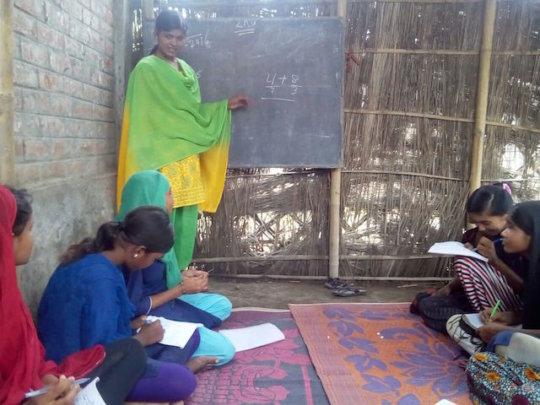 Rehana at Kasibari Learning Centre