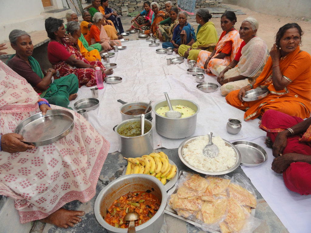 Food Sponsorship for a Destitute Old Age Person
