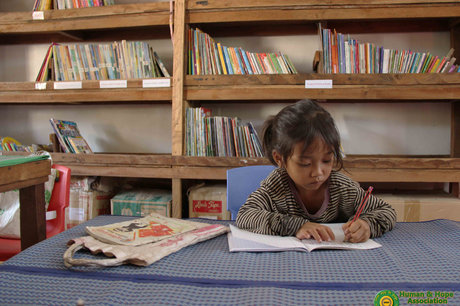 Upgrade a Library and Empower Khmer Children