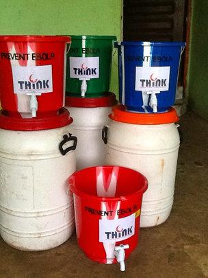 Disinfectant buckets