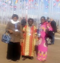 MADRE partners at UN climate summit