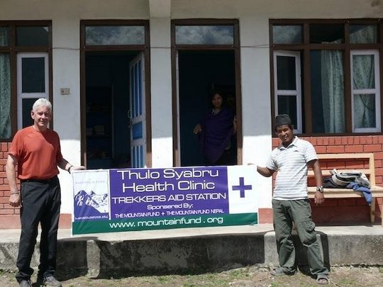 Grand Opening of Health Clinic at Thulo Syabru, Ne