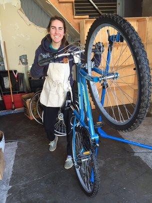 Establish a Bicycle Exchange in Santa Cruz