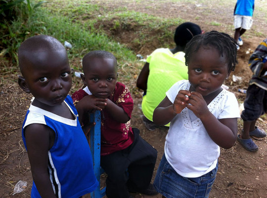 Caring for children affected by EBOLA