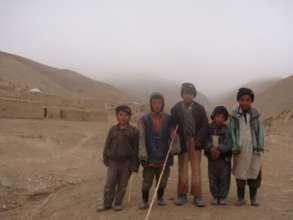 Children in cold