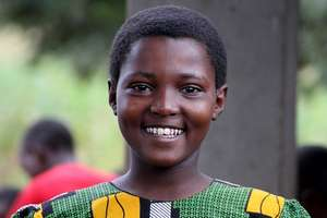 Grace hopes to be a leader for change in Tanzania!
