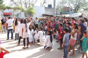 Community youth in action on gender sensitisation