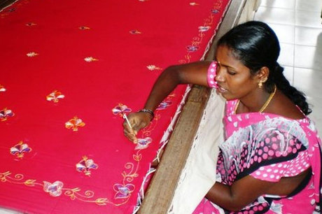 Provide embroidery training to 30 most poor women