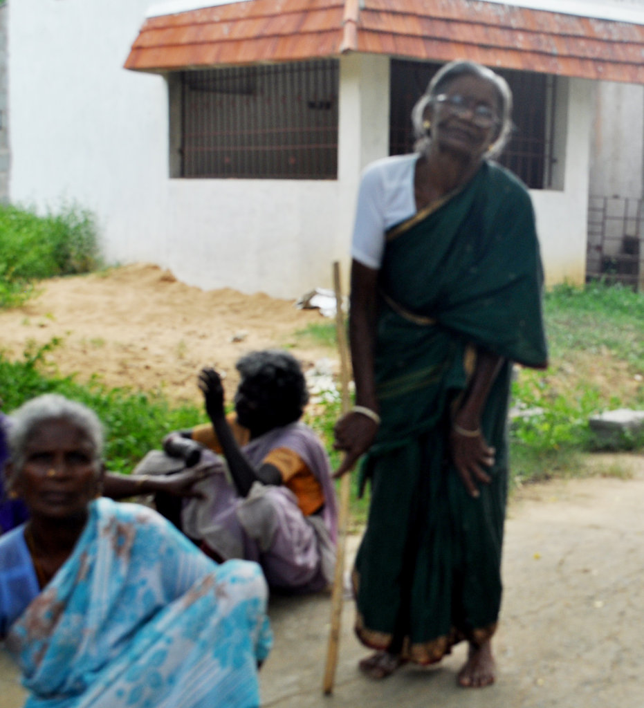 Provide neglected elderly food,medicine & clothing