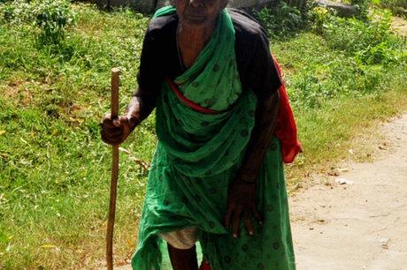 Provide neglected elderly food,medicine & clothing