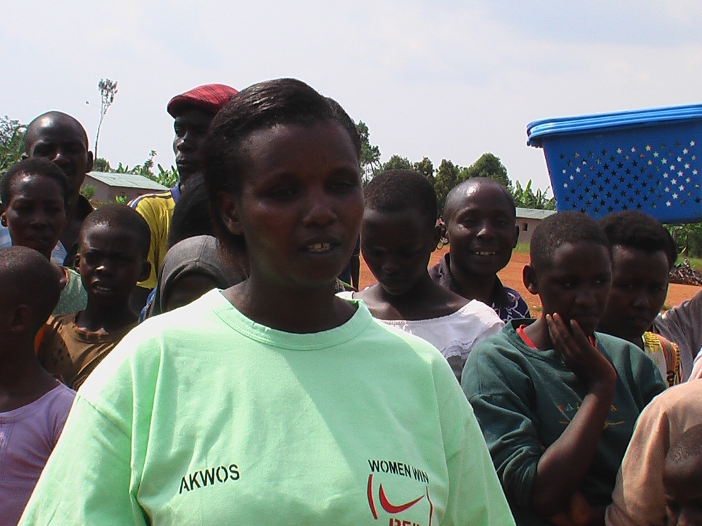 Mukamabano Valentine giving testimony