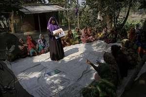 Village organization meeting