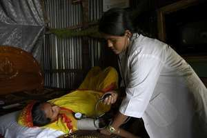 Providing antenatal care