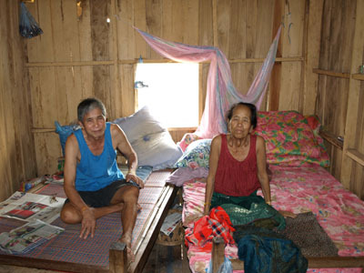 Grandpa Thong and Grandma Bouan Song