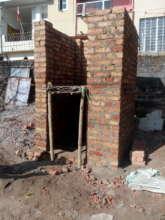 Toilet Cabin Construstion