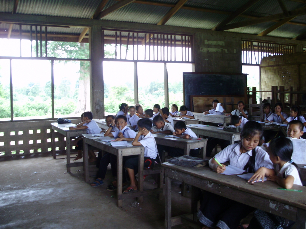 The old classroom needs renovation