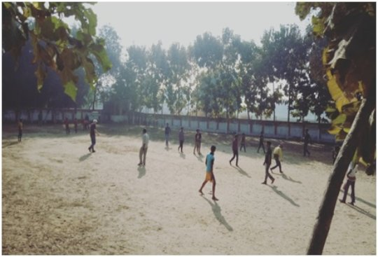 Children on the play ground