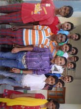 Sumant with his LBHC friends