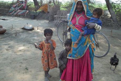 Quilts for 500 women & children in Pakistan