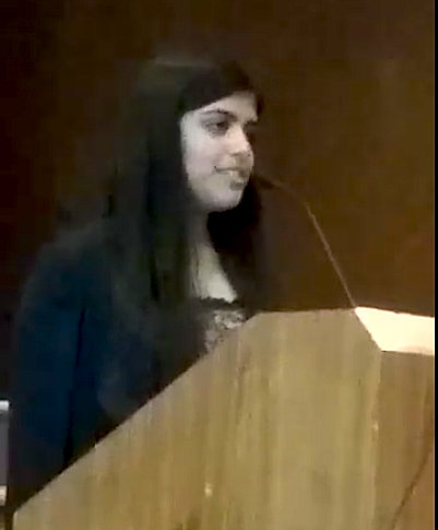 Lina Karamali, Keynote Address in Santa Clara