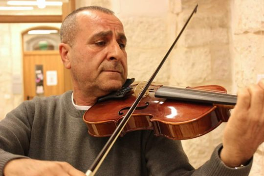 Mohammad Fadel the Violin Teacher