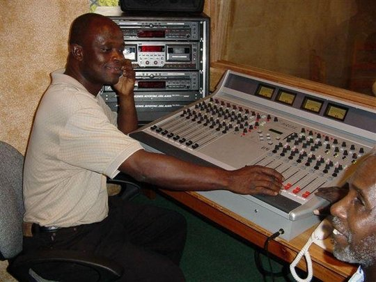 Senior Technician Jerry Meyers in the STAR radio C