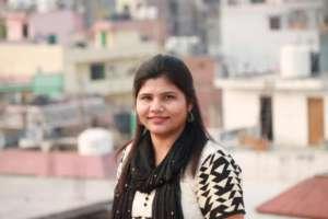 Faiza, a Girls' Education Program mentor in India