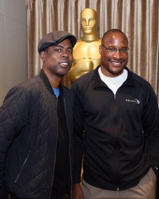 GEANCO COO Afam Onyema with Oscars Host Chris Rock