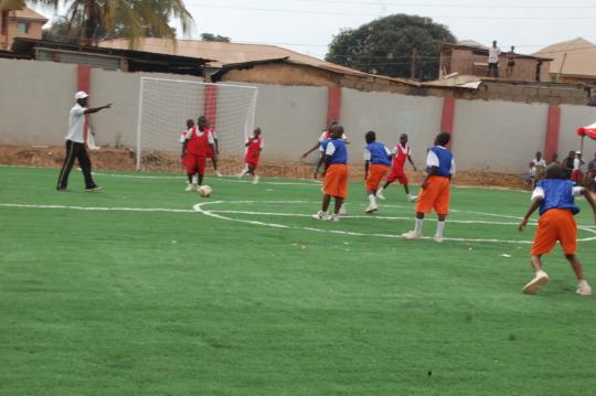 Brightland Academy soccer field