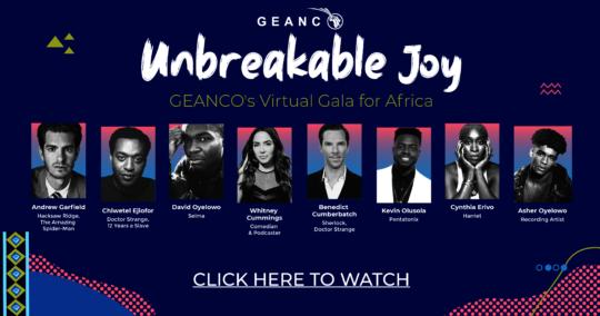 UNBREAKABLE JOY Virtual Gala for Africa
