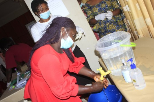 Coronavirus training for nurses and midwives