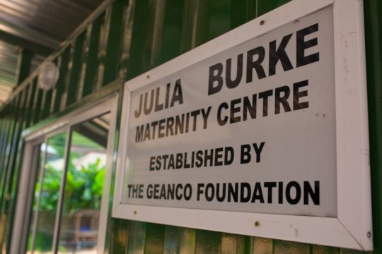 Our Julia Burke Maternity Center opened this year