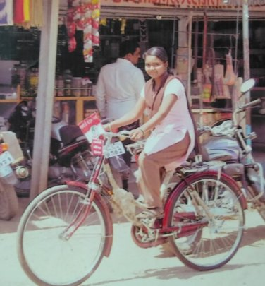 bicycle is like wings for me