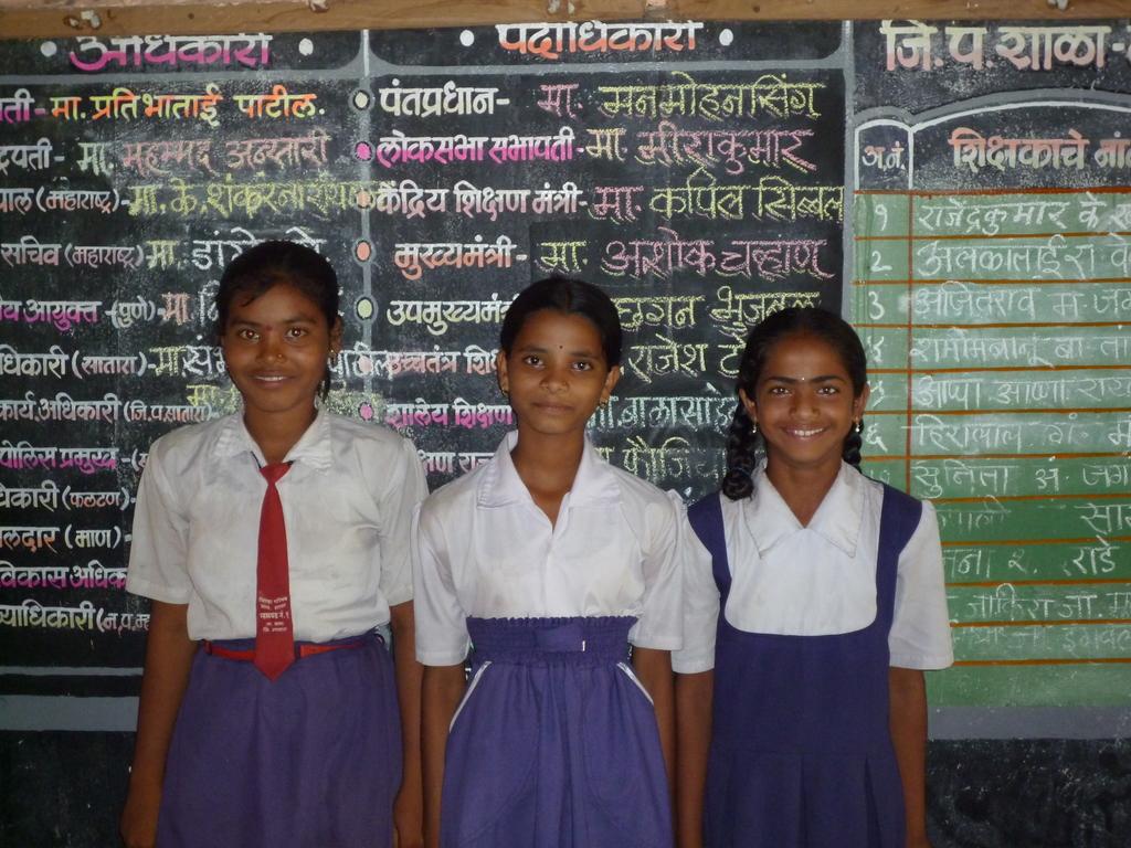 Bicycles Donated to Madhuri, Varsha & Jyoti