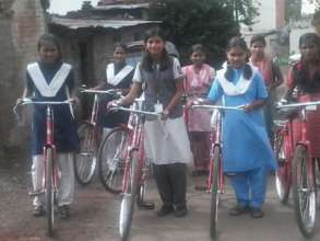 Mann Deshi supported Bicycle Girls