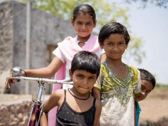 Amruta, the bicycle girl