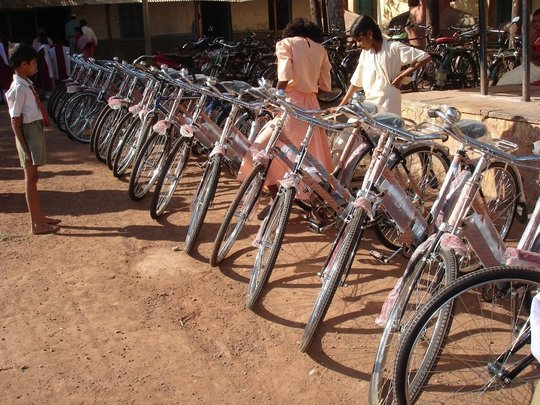 The new bicycles