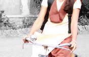 Give a girl a bike: help her go to school