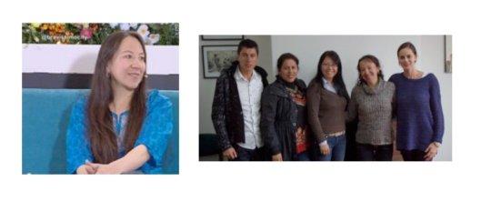 Laura Moreno with Circulos para ENprender team
