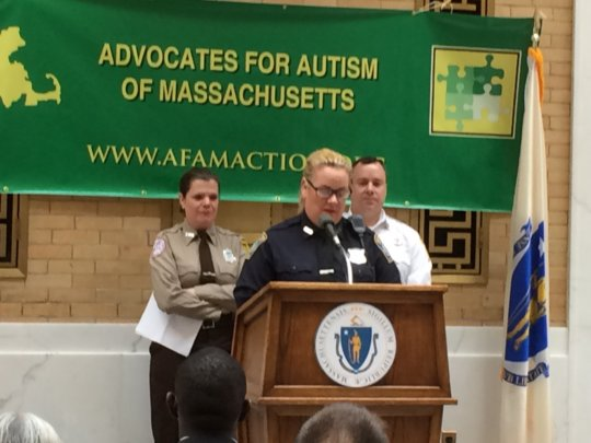 ALEC presenting at MA Autism Awareness Day