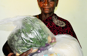 Support monthly groceries to neglected elder women