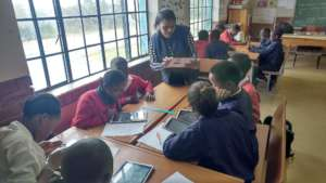 Finding answers at Zwelihle Primary