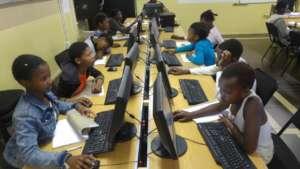 Learners of Mzamomhle Primary