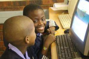 Learners working together