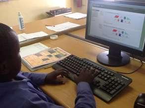 Enjoying the online Maths exercises at Mzamomhle