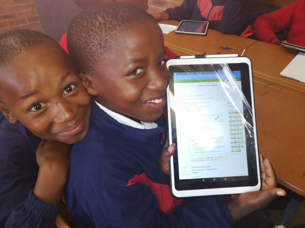 Help more South African children achieve in Maths