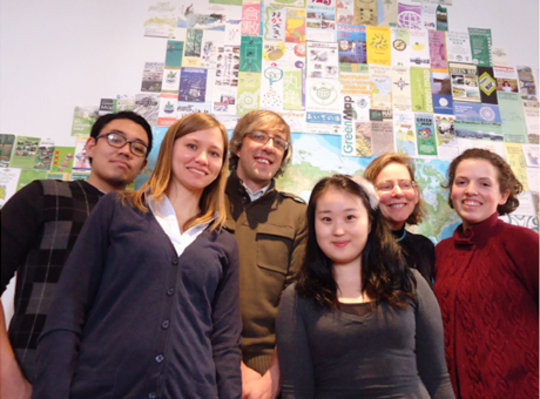 Our Archive team in 2011