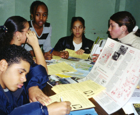 High school students share ideas for new NYC maps