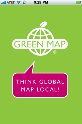 Green Map App