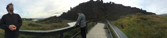 Iceland's continental rift & democracy birthplace